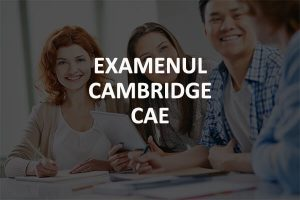 Examen Cambridge CAE