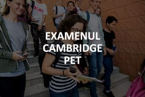 Examen Cambridge PET